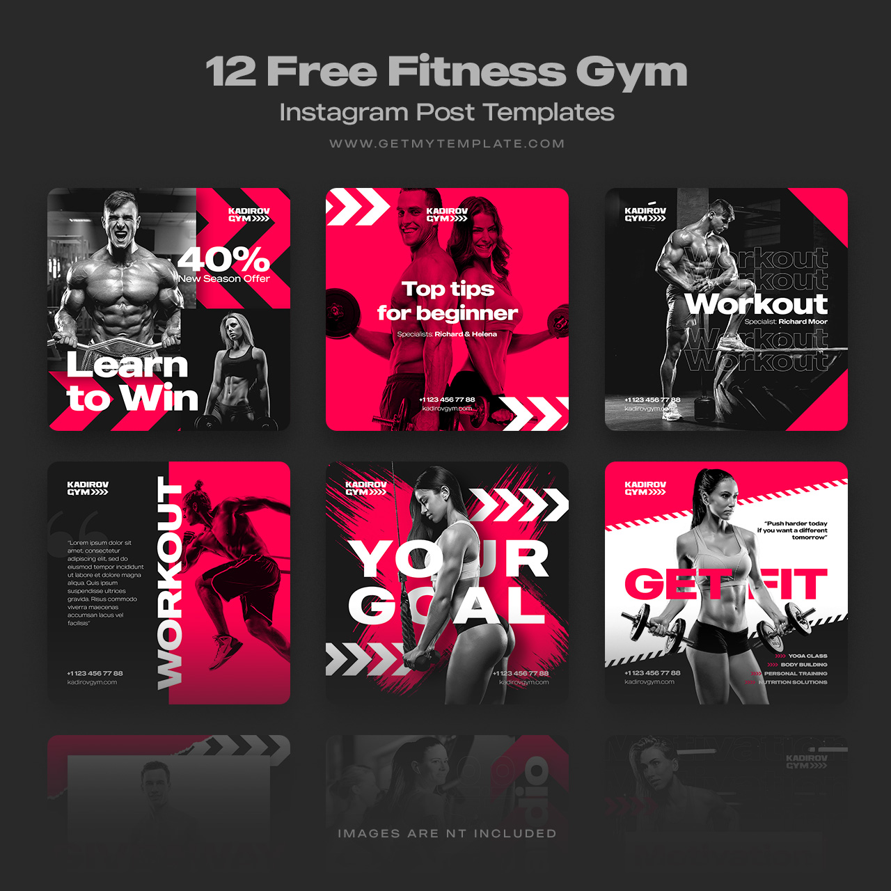 Fitness Templates