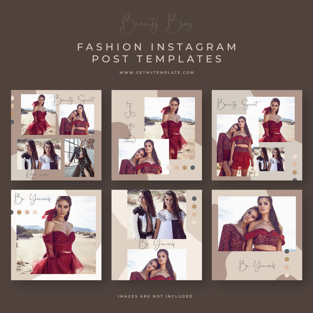 6free fashion post templates