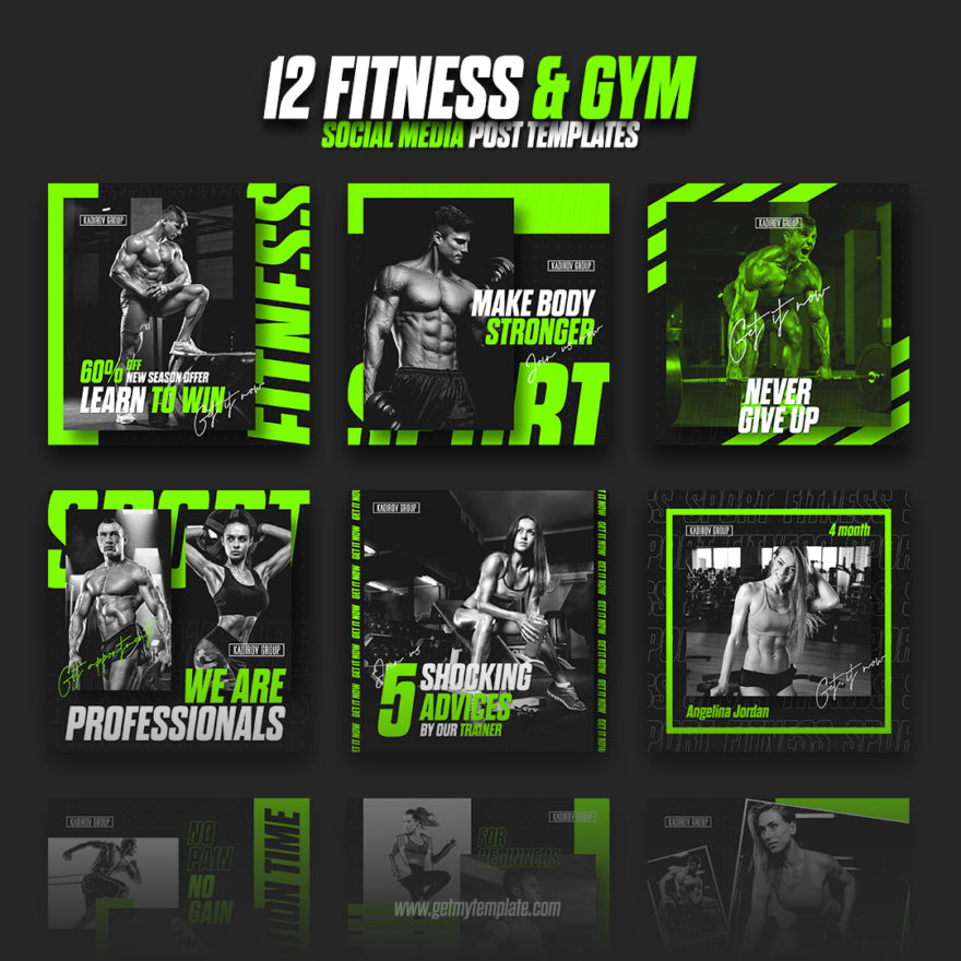 Free Fitness Templates